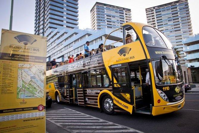 Tour Buenos Aires aboard the fun Tourist Bus