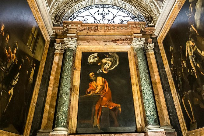 Caravaggio Art Walking Tour with Donato PhD Guide