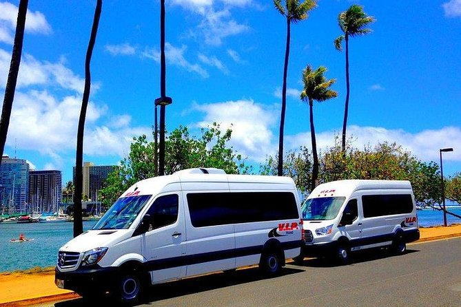 Arrival Trasfer: Airport Shuttle Honolulu and Cruise Terminal