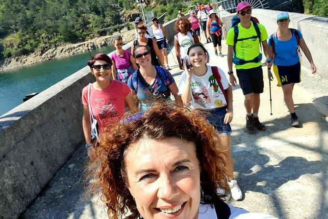 Sentiero del Gorzente and the emerald green natural pools