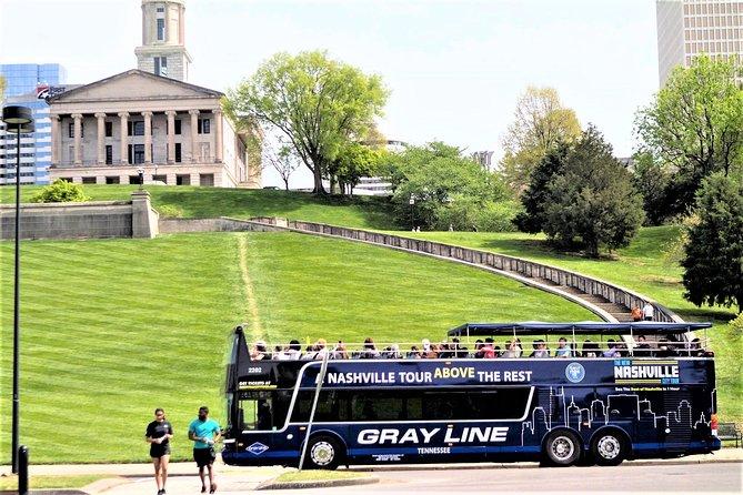 Best of Nashville City Tour im Doppeldeckerbus