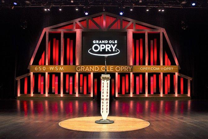 Grand Ole Opry Backstage Tour & Opryland Resort Delta River Flatboat Ride