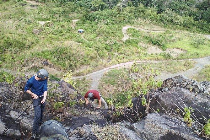 Rock climbing Mt Kandis