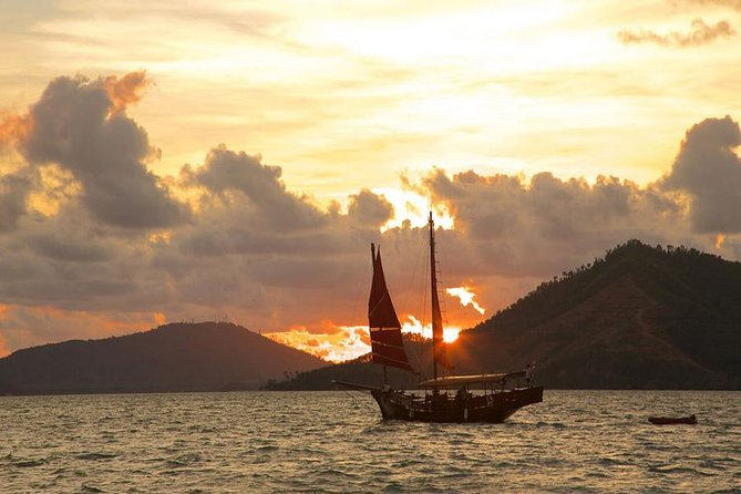 Romantic Sunset Dinner Cruiser at Phang Nga Bay by June Bahtra