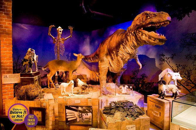 London Combo: Ripley's Believe It or Not! Ticket og Planet Hollywood Meal