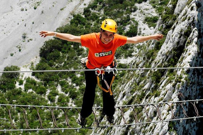Huasteca Canyon Via Ferrata Zipline And Rapelling Adventure From Monterrey 2021