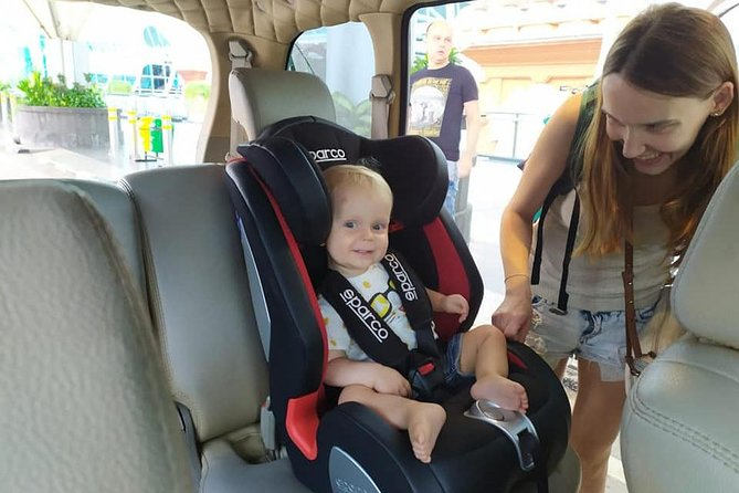 Private Car Charter in Bali with Baby Seat