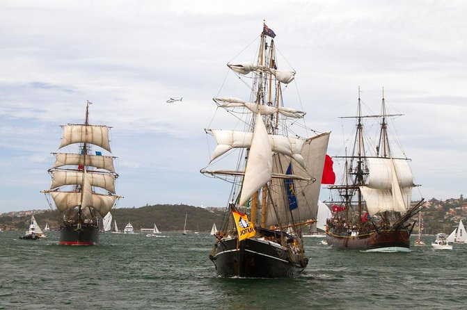 Boxing Day Tall Ships Cruise on Sydney Harbour
