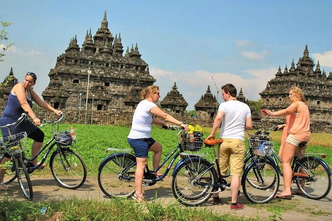 Prambanan Yogyakarta Cycling Tour with English / Dutch / Italian / French Guide