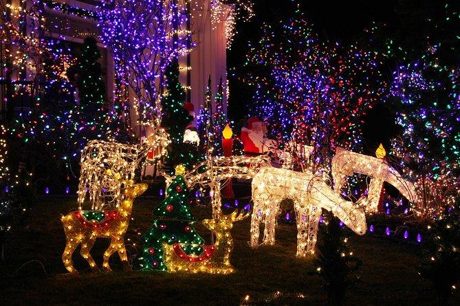 Visite à pied des lumières de Noël de Dyker Heights Brooklyn