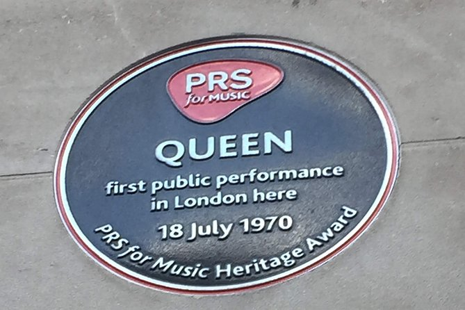 London Private Tour: The Life of Queen and Freddie Mercury Exploration Game