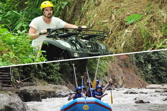 Combination Activities: Quad Bike Adventure & White Water Rafting
