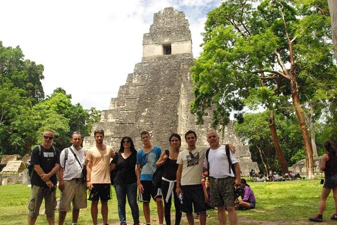 Day Trip Tikal with Zipline adventure from Guatemala City Private Tour