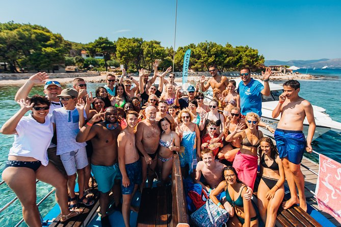 Blue Lagoon/Trogir/Šolta Boat Excursion with Lunch