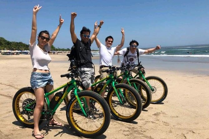 Seminyak Beach E-Bike Half-Day Tour