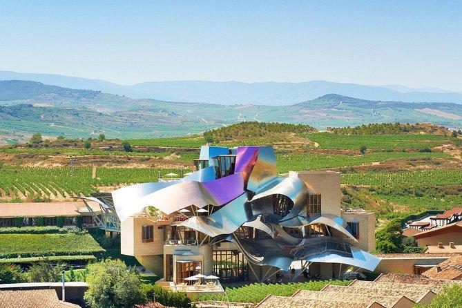 Wine Tour and Tasting at Bodegas del Marqués de Riscal