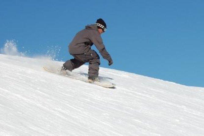 Excursion d'une journée à la station de ski Valle Nevado avec cours de ski ou de snowboard en option