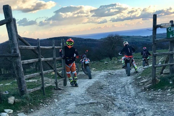 Enduro tour with guide