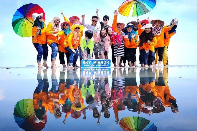 Reflected Sky Mirror Tour In Kuala Selangor
