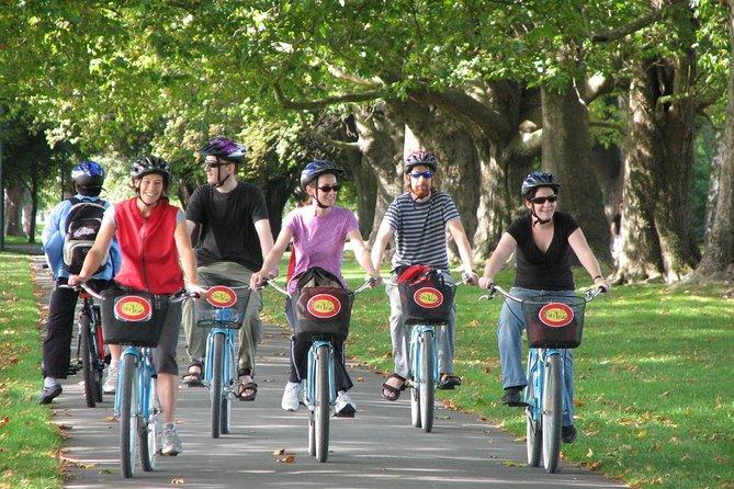 De originele fietstocht door Christchurch