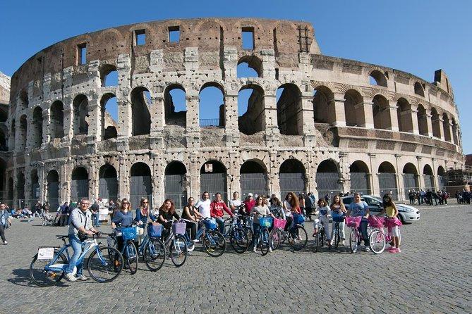 Walexcursie Civitavecchia: hoogtepunten van de Eeuwige stad, inclusief een fietstour door Rome
