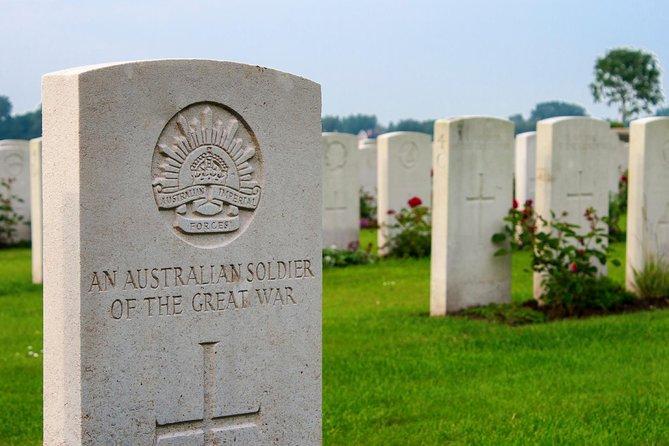 Tour naar de slagvelden van de Somme, Fromelles en Vlaanderen en de Last Post-ceremonie in Ieper met een kleine groep vanuit Brussel