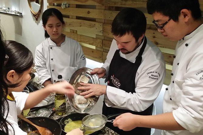 Bilbao kookcursus en bezoek aan de binnenmarkt