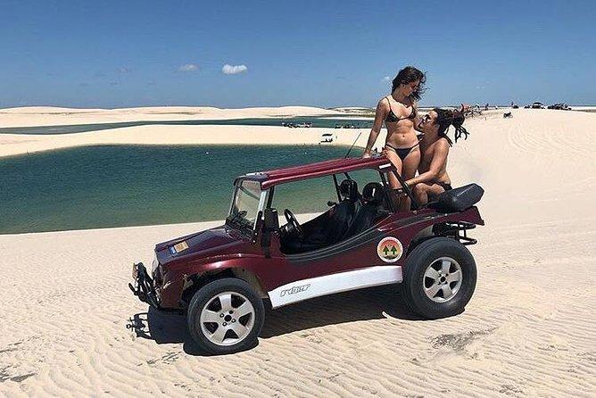 Passeio Lagoa do Paraíso e Barrinha para até 4 pessoas de Buggy by VEM PRA JERI