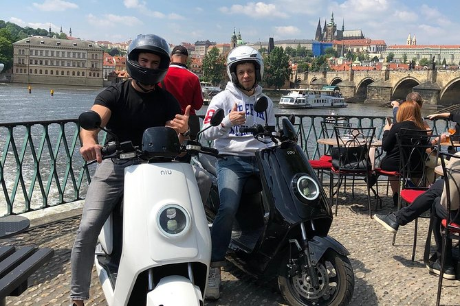 Prague by scooter
