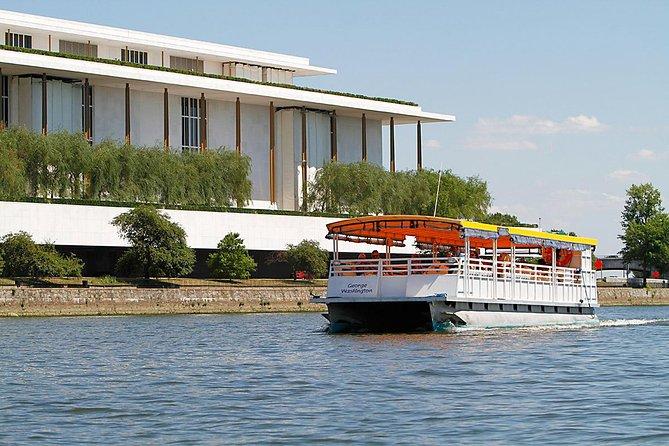 Monuments Tour med buss Plus Potomac River Cruise