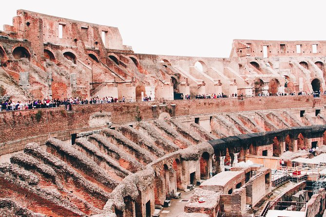 Skip-The-Line COLOSSEUM, ROMAN FORUM AND PALATINE with 45' Guided Tour