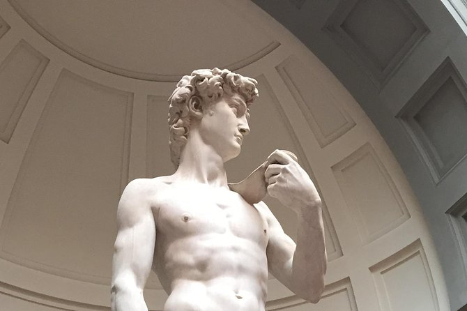 Accademia Gallery Ticket with instant delivery & mobile-guided Tour