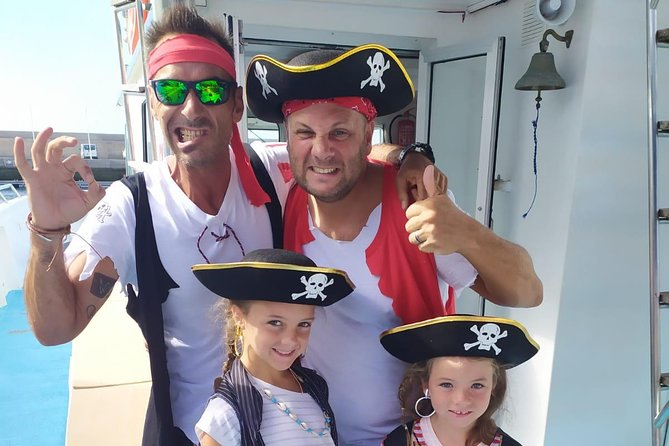 Half Day Family Boat Trip with Pirate Adventure