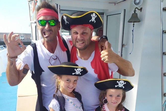Alles incl. Halve dag familie-boottocht met piratenavontuur
