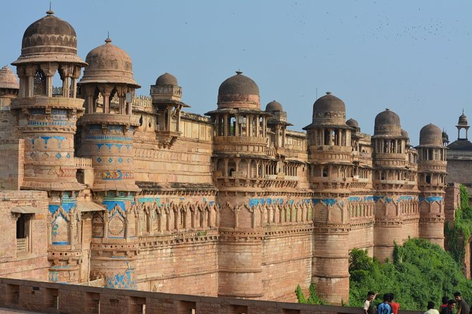 Gwalior tour with fort & beautiful palaces.