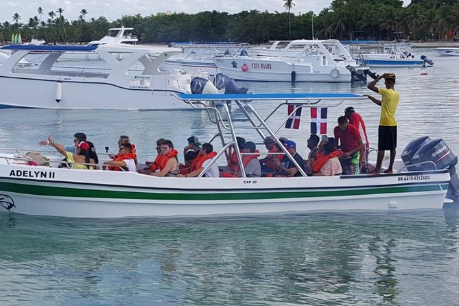 Saona Island Day Trip with Private Ground Transportation (Small Groups)