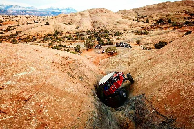 Moab Buggy Tour on Hell's Revenge Trail