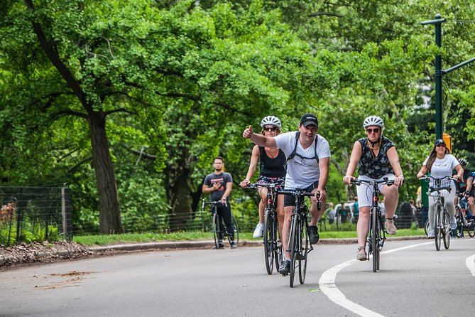 Complete Manhattan and Central Park Bike Tour