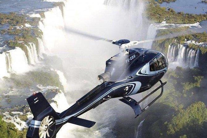 Helicopter flight over Iguazu Falls from Puerto Iguazú Hotels