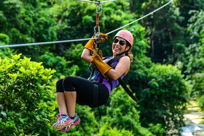 Dominican Zipline Adventure from La Romana