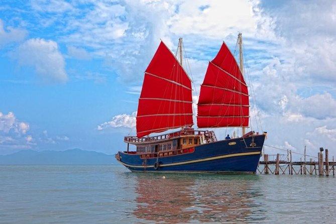 Red Baron Chinese Sailboat Sunset Tour from Koh Samui