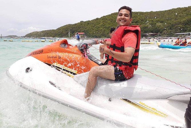 Lancha em Pattaya e Ilha de Coral
