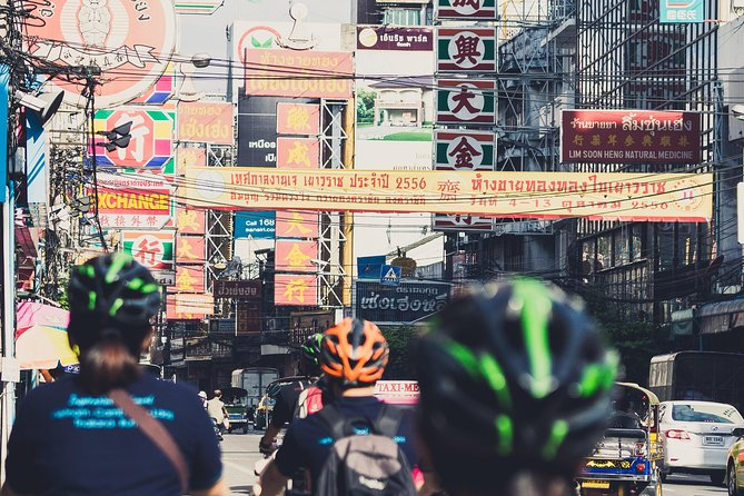 Explore Bangkok's Chinatown by Bicycle