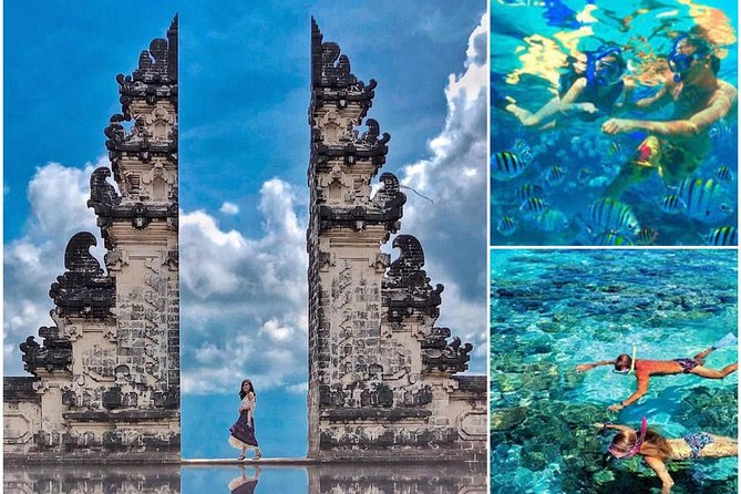Full Day : Lempuyang Temple and Best Blue Lagoon Snorkeling all Inclusive