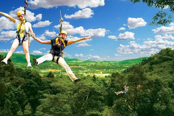 Flying Hanuman Ziplining Experience