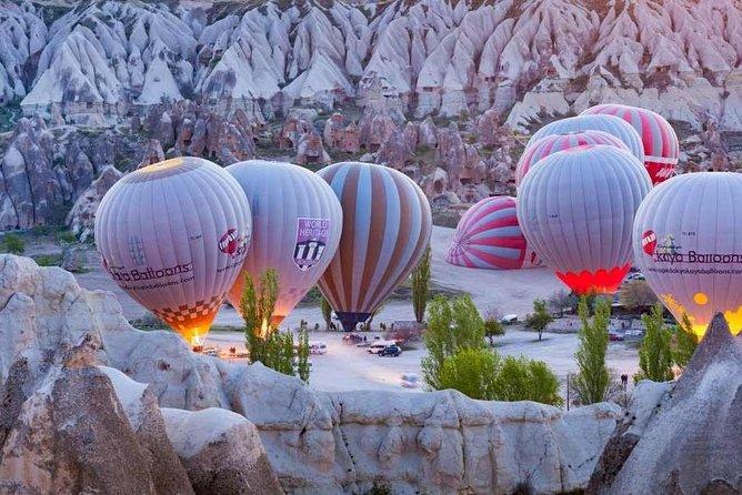Experience the Mystery on a Deluxe Cappadocia Balloon Ride