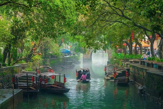 Private Day Tour to Shunde from Guangzhou: Qinghui Garden, Fengjian Water Town photo 1