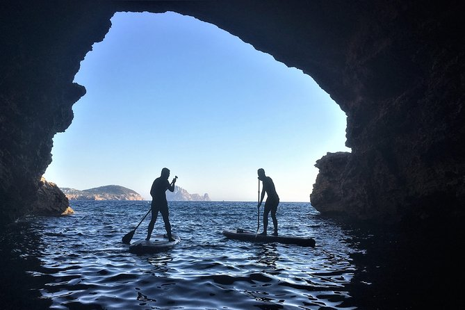SUP, Caves and Snorkel Tour in Ibiza