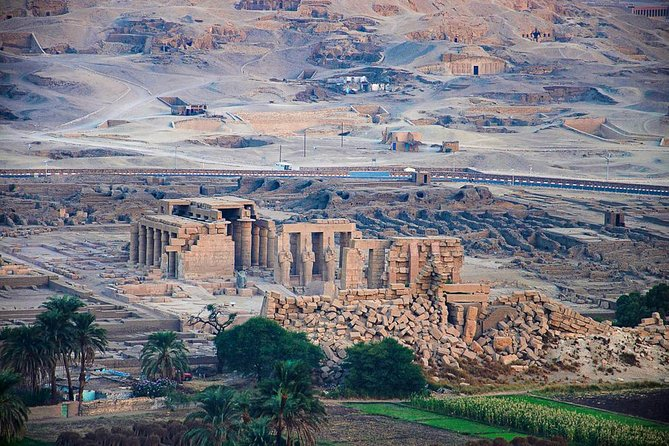 Ramesseum Temple, Habu Temples and the Valley of the Nobles photo 3