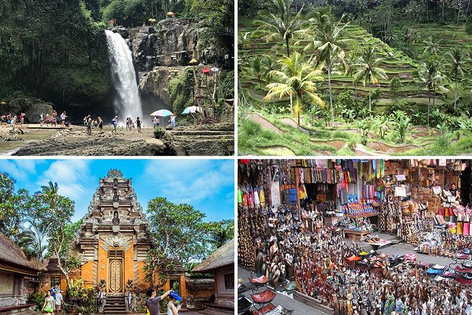 Bali Car Charter - Half Day Ubud Waterfall Tour